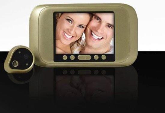 صورة : كاميرا العين السحرية مع شاشة عرض