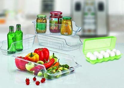 صورة : مجموعة منظم الثلاجة