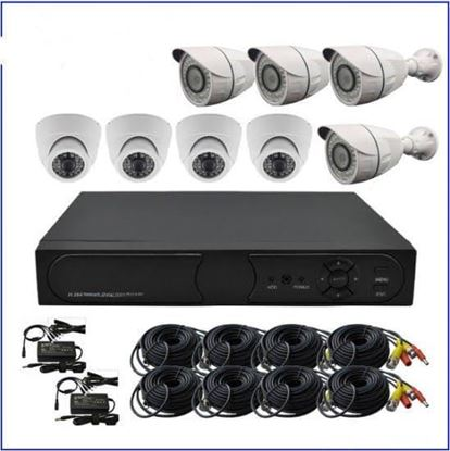 Picture of Security system, 8 cameras
