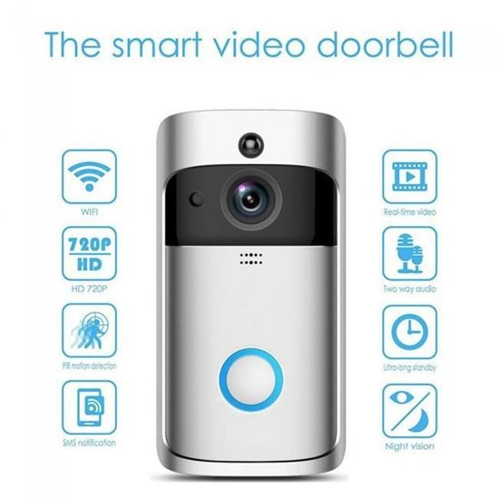 صورة : انتركم مرئي سمارت  - The smart video doorbell