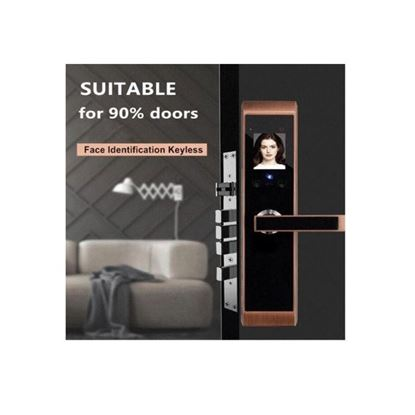 Picture of 8805 IFace Smart Door Lock - Gold