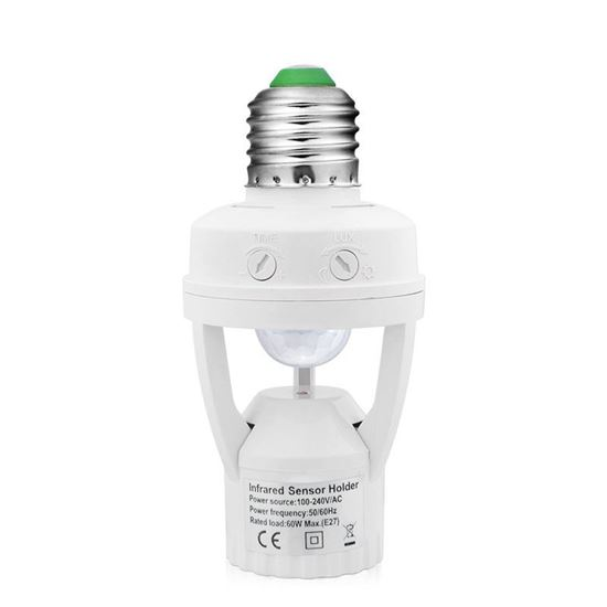 Picture of Motion sensor lamp holder