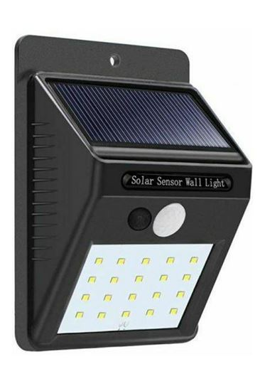 Picture of Solar energy searchlight, single chip, 20 LED