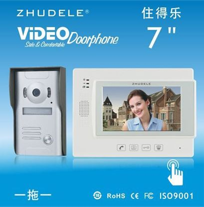 Picture of Intercom Visual Zhudele Intercom Intercom Visible 1-line 7-inch screen