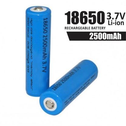 Picture of High Power 23A Lithium Battery 3.7V 1500mAh INR18650 -15MM Rechargeable Battery