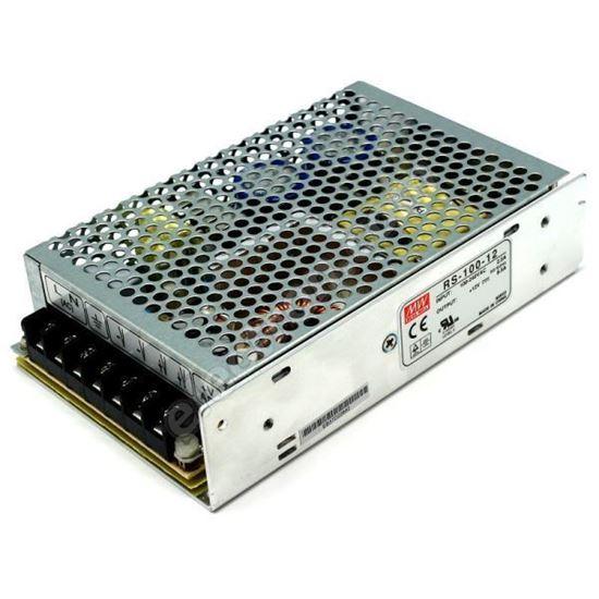 صورة : Power Supply 12 Volt , Input Voltage 220 V : 50/60 Hz