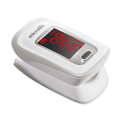 Picture of A blood oxygen meter