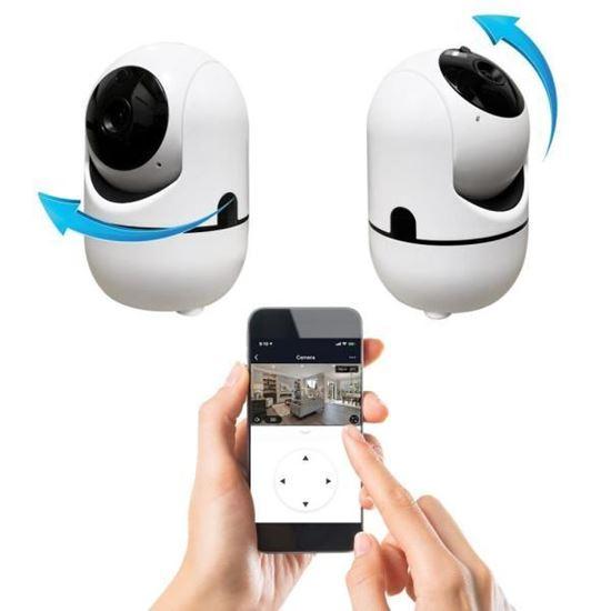 صورة : كاميرا لاسلكية بانوراما متحركة 360 درجة صوت وصورة