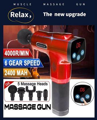 Picture of Advanced digital massage gun