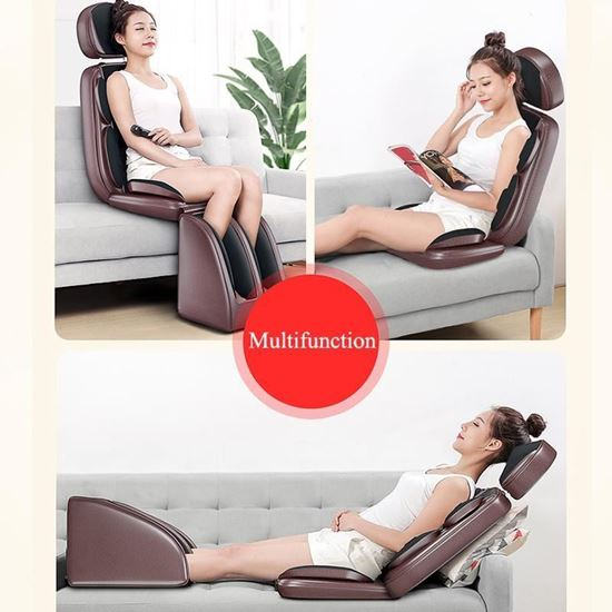 Picture of The integrated massage chair works on the neck, back, vertebrae, foot and leg