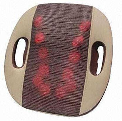 صورة : جهاز تدليك العمود الفقري ثلاثية الأبعاد 12 كرة تدليك  للكرسي والكنبة ومقعد السيارة